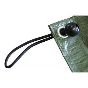 Bevestigingsmateriaal voor dekzeil met kunststof bal