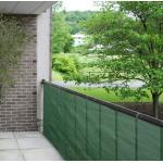 Balkondoek groen 90 cm van de rol