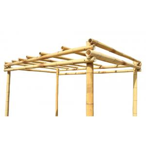 Dagaanbieding - Bamboe pergola naturel 400 x 300 cm dagelijkse aanbiedingen