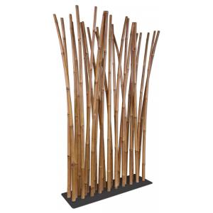 Bamboe roomdivider naturel