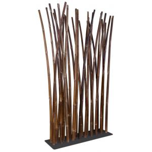 Bamboe roomdivider zwart