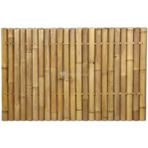 Bamboe schutting naturel 180 x 120 cm x 60-80 mm