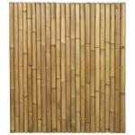 Bamboe schutting naturel 180 x 200 cm x 60-80 mm