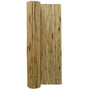 Bamboemat naturel 180 x 180 cm x 25-28 mm