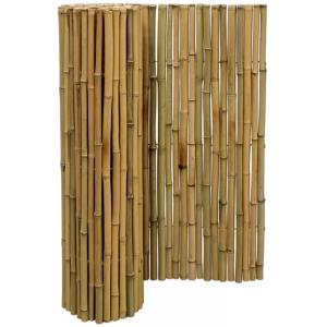 Bamboemat naturel 250 x 100 cm x 25-28 mm