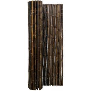 Bamboemat zwart 250 x 180 cm x 18-22 mm