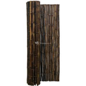 Bamboemat zwart 250 x 200 cm x 18-22 mm