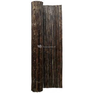 Bamboemat zwart 250 x 250 cm x 18-22 mm
