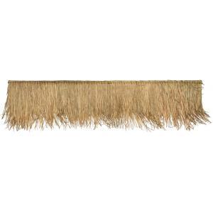 Strodak op stok van gedroogde palmbladeren 70 x 100 cm