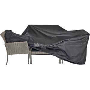 Outdoor Living Beschermhoes zwart grote zitgroep 300x250cm