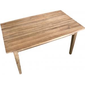 Korting Retro look houten bijzettafel 100 x 60 cm