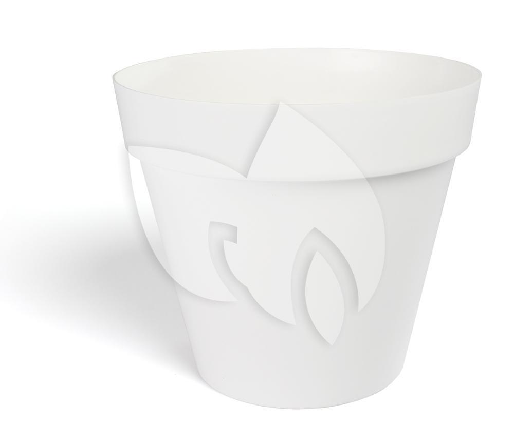Plastic Bloempot Wit.Express Bloempot Fiore Wit 35 Cm Tuinexpress Nl