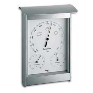 Weerstation 3 in 1 aluminium 21.6 cm