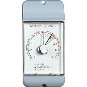 Buitenthermometer kunststof min/max 16 cm