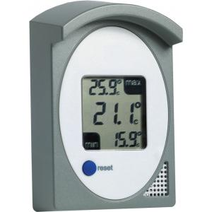 Digitale buitenthermometer met afdakje 11.5 cm