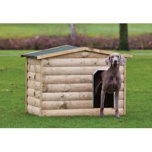 Hondenhok hout 118 x 86 x 93 cm