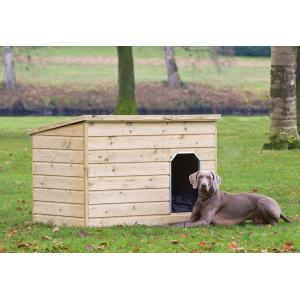 Hondenhok hout 130 x 93 x 97 cm