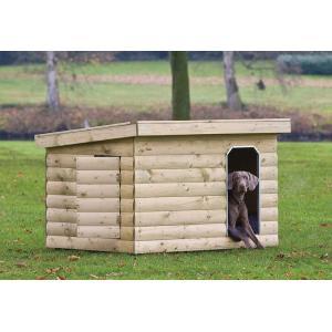 Hondenhok hout 150 x 120 x 110 cm