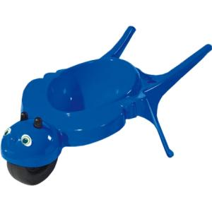 Kinderkruiwagen rolling bee blauw