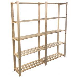 Opbergrek hout 170x170x30 cm