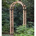 Houten rozenboog  toog 254 x 120 cm