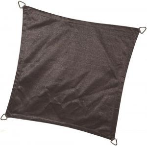 Schaduwdoek vierkant 3.6 meter antraciet