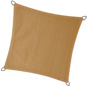 Dagaanbieding - Schaduwdoek vierkant 3.6 meter zand dagelijkse aanbiedingen