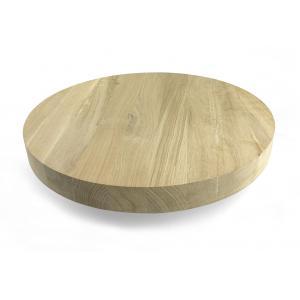 Massief eiken tafelblad 40 cm