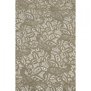 Korting Tafelkleed 140x260cm grijs met motief