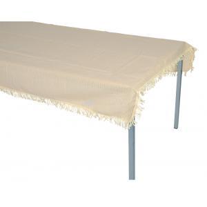 Tafelkleed rechthoekig 140x180cm beige