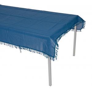 Tafelkleed rechthoekig 140x180cm blauw