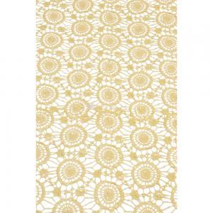 Korting Tafelloper antislip 40x150cm beige