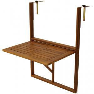 Korting Balkontafel inklapbaar 45 x 64 cm hout