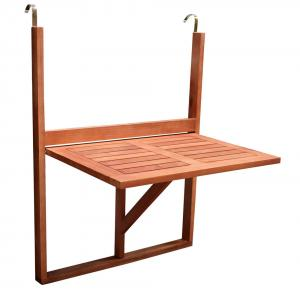Balkontafel inklapbaar 60x40 cm