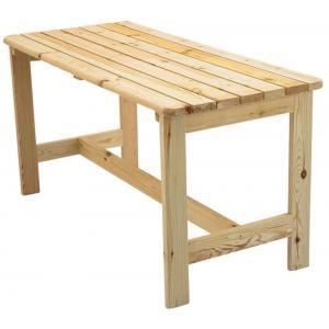 Bergen houten tuintafel onbehandeld 150 x 65 cm