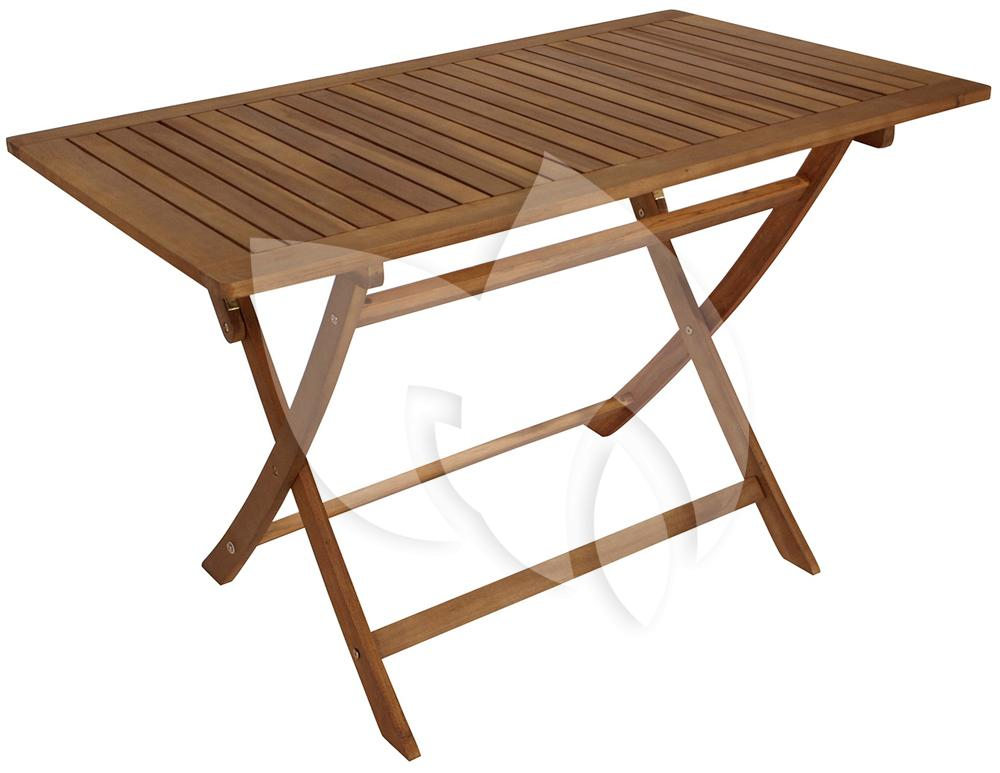 Express tobago opklapbare houten tuintafel cm