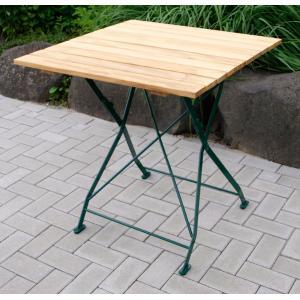Tuintafel hout opklapbaar Bad Tolz groen 70cm