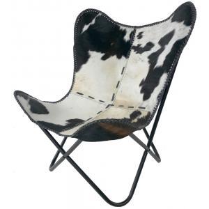Vlinderstoel Cow