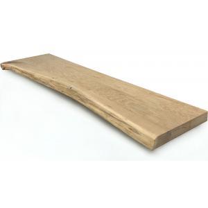 Dagaanbieding - Eiken plank massief boomstam 60 x 30 cm dagelijkse aanbiedingen