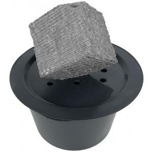 Korting Kubus waterornament natuursteen 31 cm doorsnede