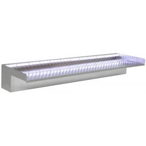 RVS 60 cm waterval LED