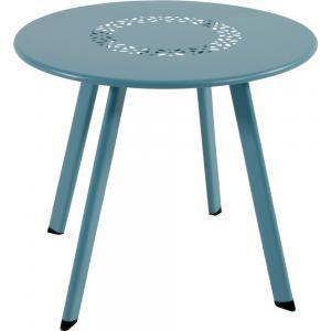 Korting Dali bijzettafeltje blauw 40 cm