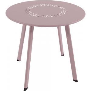 Dali bijzettafeltje roze 45 cm