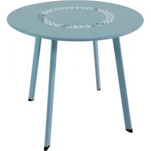Korting Dali bijzettafeltje blauw 50 cm