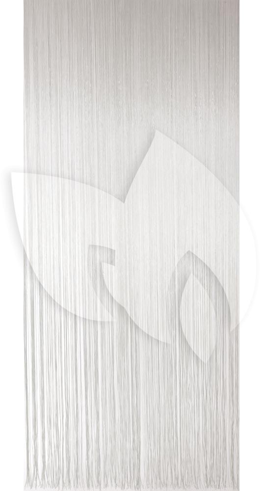 Express Vliegengordijn PVC spaghetti wit 90x220cm | Tuinexpress.nl