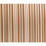 Vliegengordijn PVC Tris bruin 90x220cm