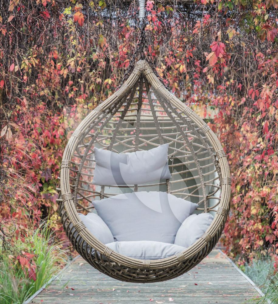 Hangstoel Zonder Frame.Tuinbankje Nl Amazona Egg Hangstoel Naturel Tuinexpress Nl