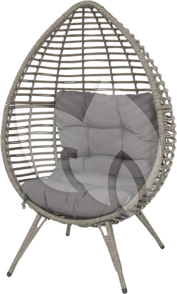 Express chill egg stoel grijs for Chill stoel