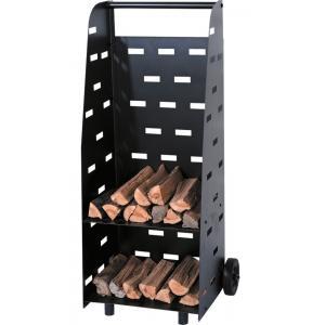 Modern houtblokkenkarretje