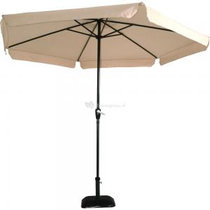 Outdoor Living Parasol Gemini ecru ø3mtr